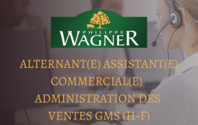 Alternant(e) assistant(e) commercial(e) administration des ventes GMS (H-F)